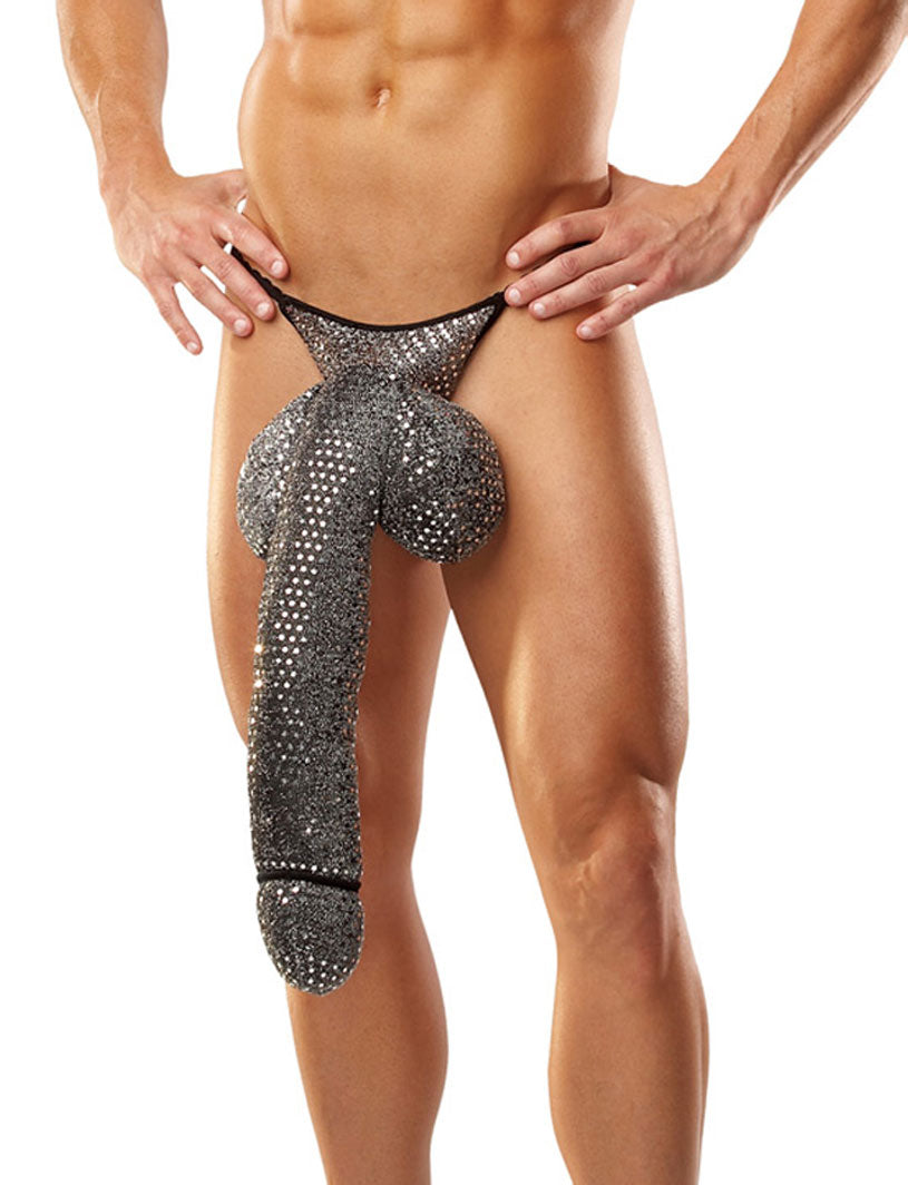 Long Schlong Costume for Men, Sexy Big Dong -Closeout