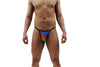 Rainbow Rising Mens Thong With Ring