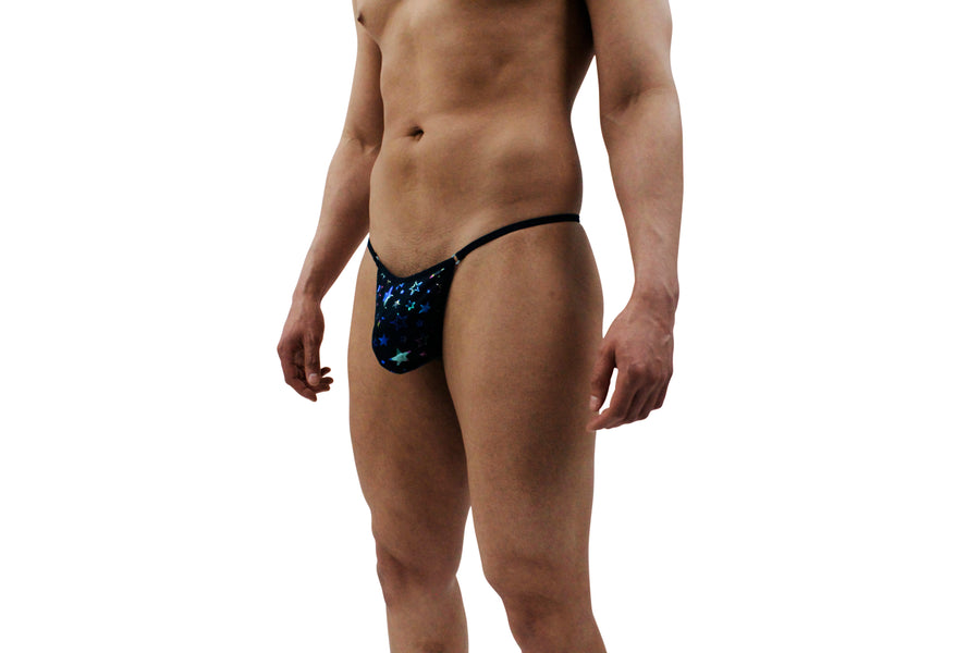 Super Star Mens Thong With Ring