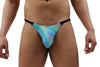 Candy Dots Mens Thong With Clip
