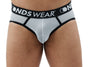 Sheer White Mens Jock String Thong