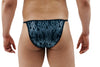 Black Flame Mens Brief With Ring
