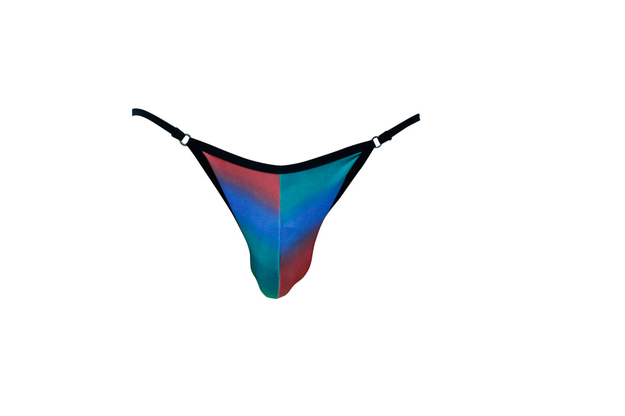 Rainbow Rising Mens Brief With Ring