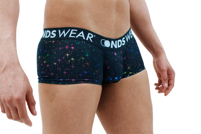 Sparkly Night Mens Boxer Brief