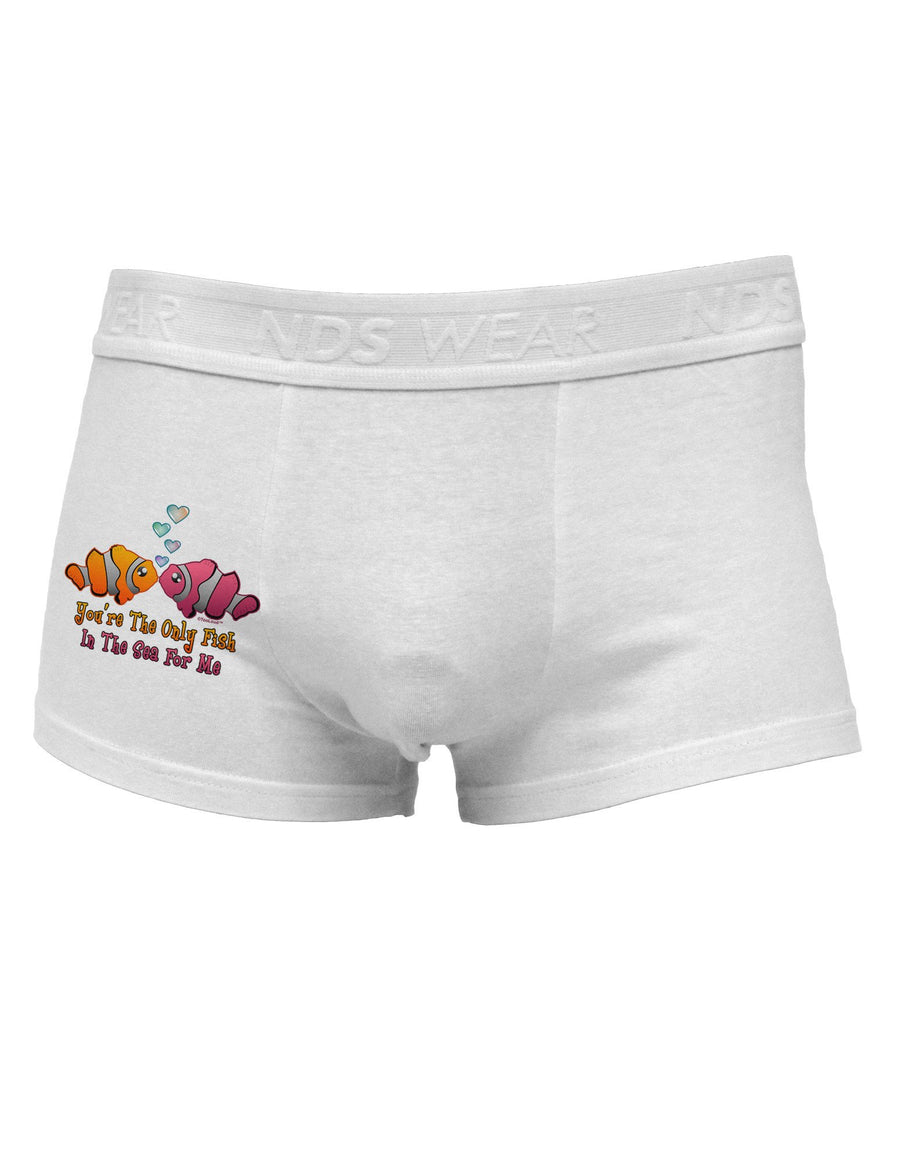 Kissy Clownfish Only Fish In The Sea Side Printed Mens Trunk Underwear