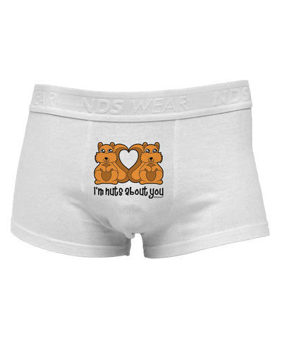 Cute Squirrels - I'm Nuts About YouMens Cotton Trunk Underwear