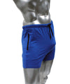NEPTIO® Fitted Star and Stripes Or Solid Gym Workout Running Short