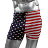 Fitted USA Star and Stripes Gym Workout Running Short by NEPTIO®