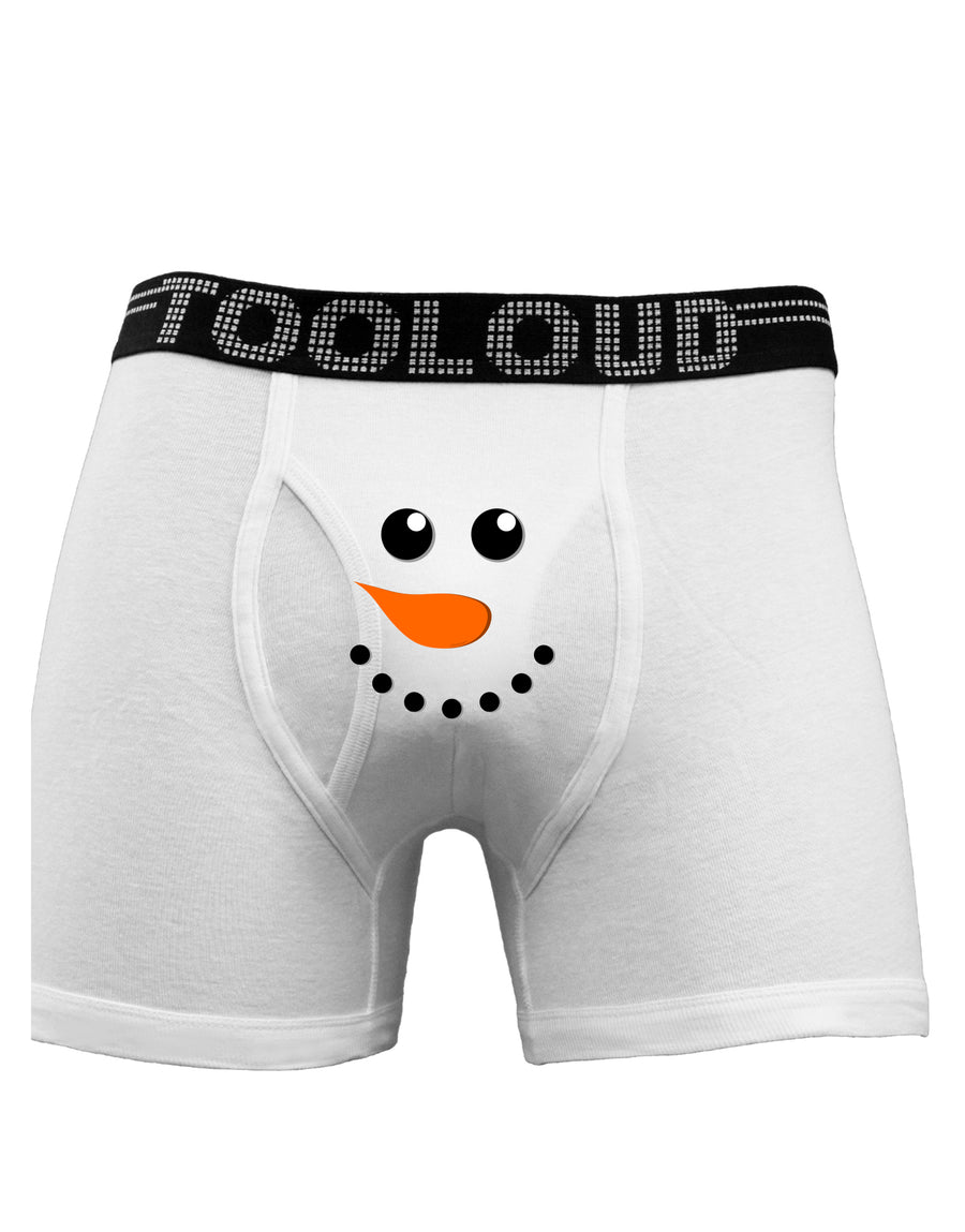 Snowman Face Boxer Brief by TooLoud, Christmas Underwear, Winter Wear