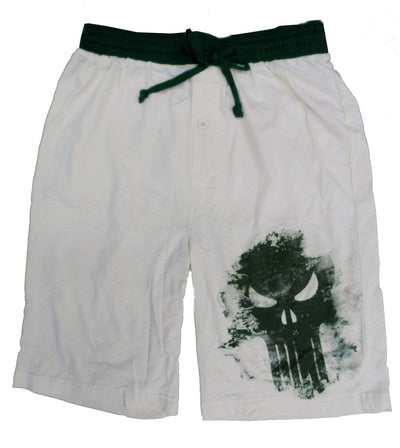 Marvel Men's Punisher Jam Short, Beige -Closeout