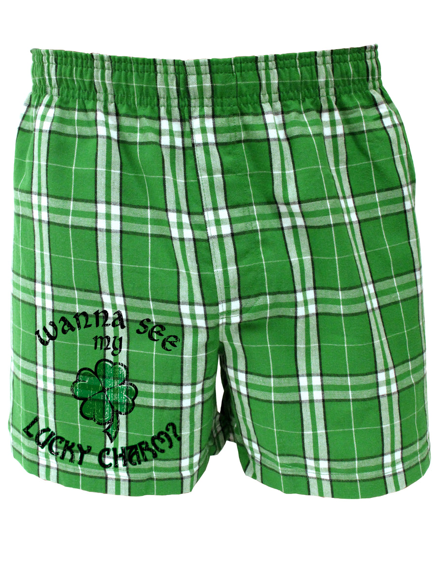 st patricks day mens boxer short underwear