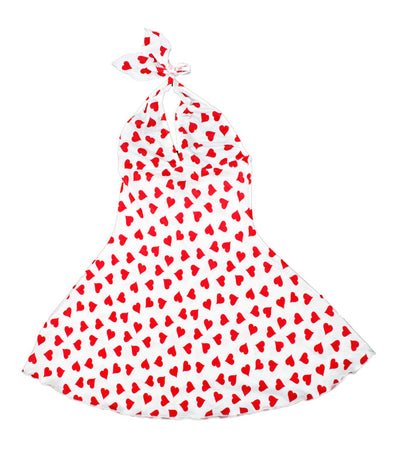Teensy Weensy Heart Mini Dress - Clearance