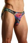 Aquarious Sheer Pouch Bikini Brief Mens Underwear -Closeout