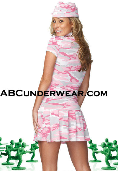 Pink Camo Army Girl Set