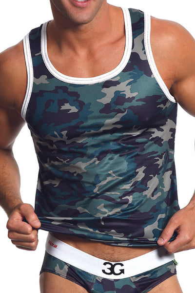 3G Army Tank Top