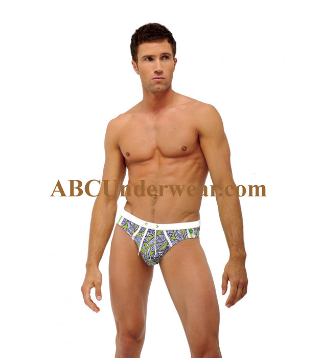 7676a1d36a 3G Bandana Brazilian Cut Men's Swimsuit - ABC Underwear