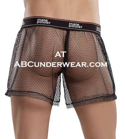 Banded Fishnet Men's Boxers