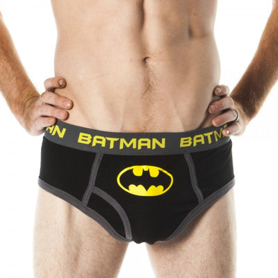 Adult Batman Signal Logo Briefs