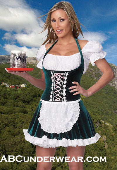 Beer Girl Costume, Oktoberfest
