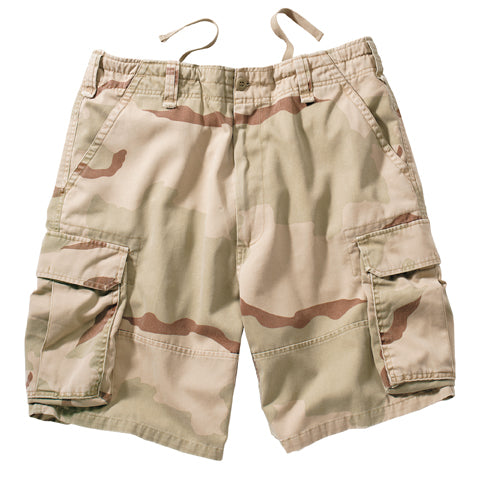 Big Men's Camo Cargo Short
