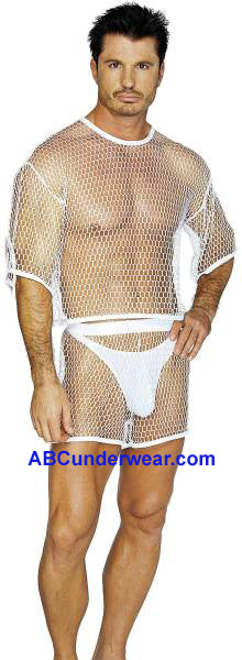 Mens Big Net Boxers -Closeout