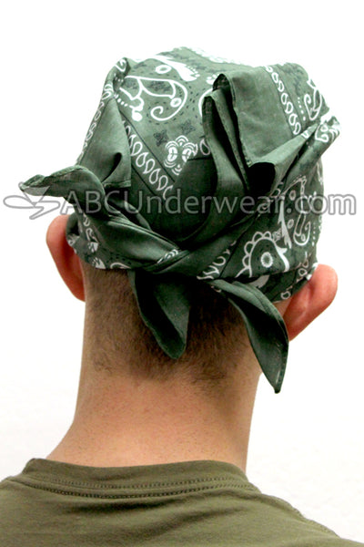Colored Bandana for Head or Face