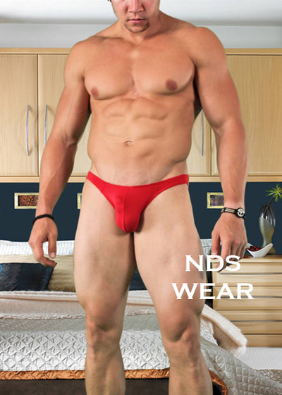 Men's Red Bikini Brief by NDS Wear
