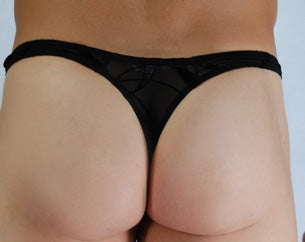 Black Eclipse Thong