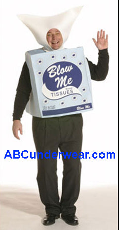 Blow Me Tissues Costume