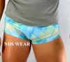 Men's Blue Diamond Short