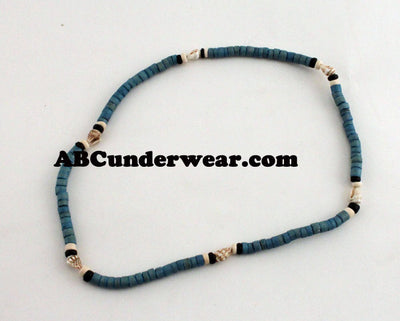 Wood & Shell Necklace