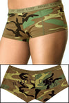Booty Camp Forest Camo Booty Short