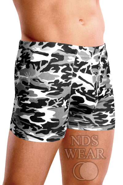 Raphael's Grey Camo Boxer Brief