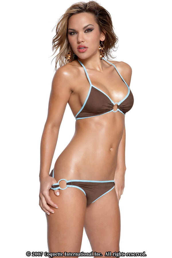 Womens Coquette Bikini Swim with Rings - Clearance