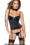 Womens Bustier w Wire Cups & G-String - Clearance Sale!