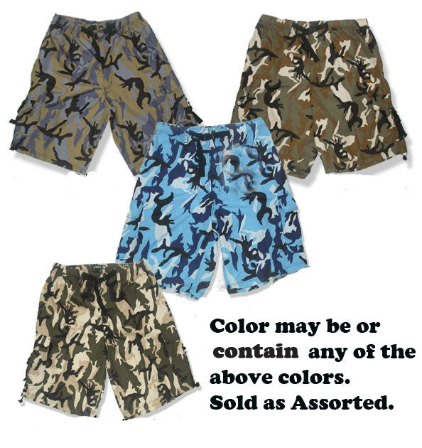 Camouflage Assorted Short - Closeout