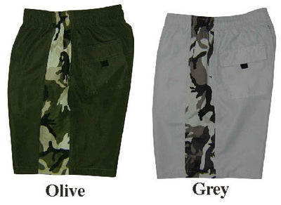 Camo Strip Swim Short