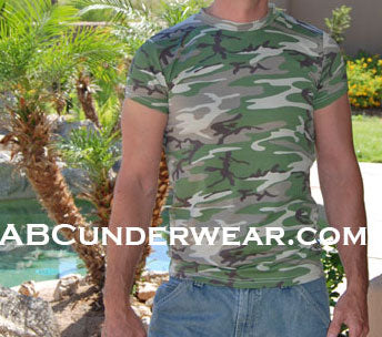 Army Camo Mens T-Shirt Clearance