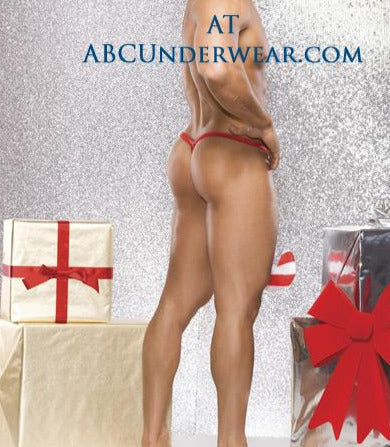 Men's Candy Cane G-String