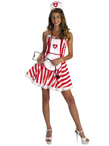 Handy Candy Costume, Sexy Women's Nurse Halloween Costume