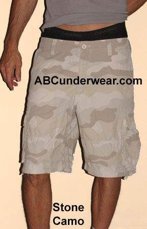 Men's Cargo Shorts Large Clearance