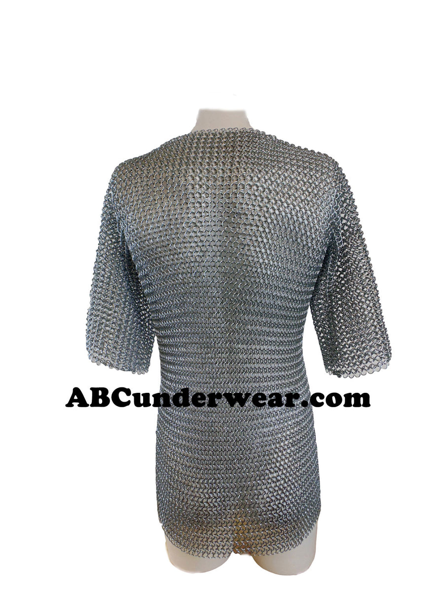 Chain mail Half Sleeve Shirt