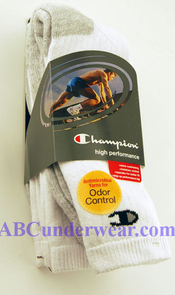 Champion High Performance Crew Sock 3 Pack
