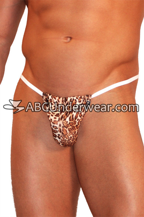 Cheetah Print G-String