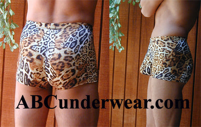 Cheetah Midcut Swimsuit