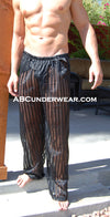 Sheer Stripe Pant