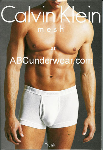 Calvin Klein Cotton Mesh Trunk