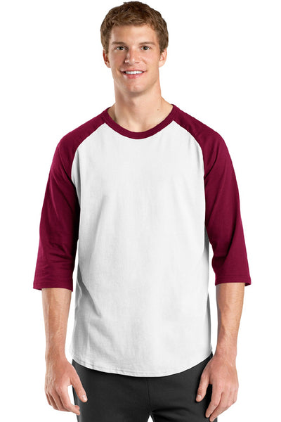 Raglan Jersey 3/4 Sleeve Shirt for Men