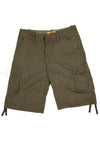 Cotton Cargo Shorts - Gray