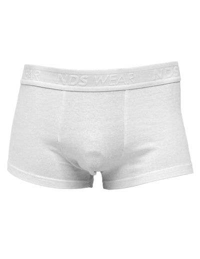 Mens Cotton Pouch Trunk Underwear - White